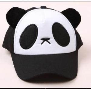 Panda-Hut Tierformkarikaturhutentenzungen-Baseballmütze