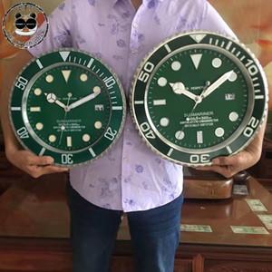 34cm / 38cm lujo metal reloj de pared del diseño del arte Pow Patrulla pared reloj Decoración Relojes de pared Relogio Parede decoración Y200109