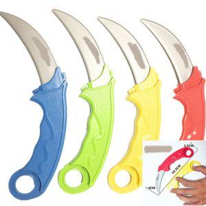 1 Pcs Safe Retractable Decorative Dagger Knife Gag Joke Surprised Props Prank Props Toy Gun Accessories color random