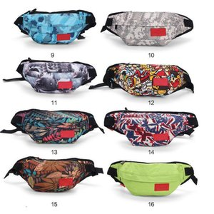 2018 nueva marea Desinger bolso de la cintura Brand Bags Bolsas Waistpacks Mujeres Hombres deporte al aire libre Ciclismo Packs Bolsa totalizadores clásico cremallera bolsas 26 Estilos