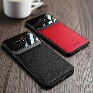 Кожаный Чехол для телефона Для Samsung Galaxy Note10 Note10Pro Note8 A7 2018 S10plus A20 / A30 A70 Жесткий горячий