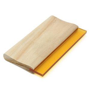 8 بوصة وشاشة الحرير مطبعة الممسحة واحدة 70 أدوات مقياس التحمل الحبر مكشطة الممسحة