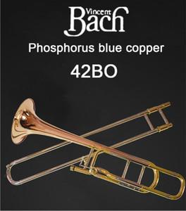 United States BACH 42BO Trombone drop B turn F Phosphorus Copper Professional trombone instruments