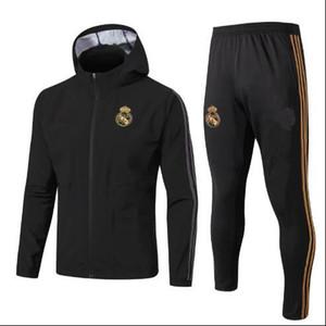 2019 Реал мужские толстовки куртка ветровка костюмы футбол Джерси Ветровка зимнее пальто свитер