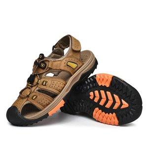 сандалии-MEN zandalias transpirables тапочка 2020 размер безопасности Римские Сандел ERKEK sandalsslippers Uomo Hombre сандалии Sandale