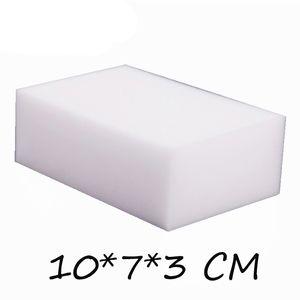 50 pçs / lote alta qualidade Magic Sponge Eraser Melamina esponja Cleaner para cozinha escritório de limpeza 10x7x3cm