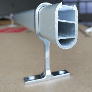 Envío gratis 2000mmX15.2mmX29.46mm recién diseñado productos chinos calientes perfil de extrusión de aluminio rígido LED barra de luz accesorios