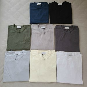 20SS 64450 LUZ Crewneck CAMISOLA LUZ gola redonda camisola de alta qualidade Mens Cotton Womens Long Sleeve HFWPWY293
