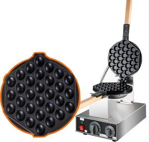 Ücretsiz nakliye ~ Toptan 20 Adet / Lot Elektrik 110V / Makine / Ticari Yumurta puf Makinası / Waffle Demir Yapımı 220V Kabarcık Waffle
