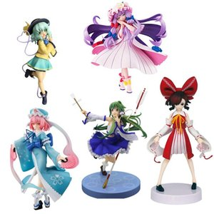 Оригинальная японская аниме-фигура 2020 года Touhou Project Flandre Scarlet/Saigyouji Yuyuko/Komeiji Satori action figure