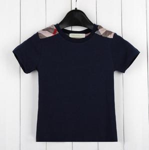 T-shirt bambino manica corta vendita al dettaglio per bambini in puro cotone estate Nuovo modello Top Tops bambini tee ragazzo magliette