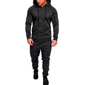 Весна хип-хоп спортивные костюмы камуфляж дизайнер кардиган толстовки брюки 2 шт. комплекты одежды панталоны костюмы толстовки мужская мода