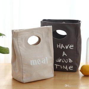 Bento insulation bag Portable Large-capacity lunch bag water bag