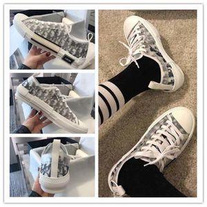 KAWS Oblique Low Dior Converse B23 Designer Luxury Slides SlipperAJ1 Hommes Femme Kim Jones Kanye West B22 Basket Men Women High Top Bleu B24 Running Shoes Sneakers Casual Shoes