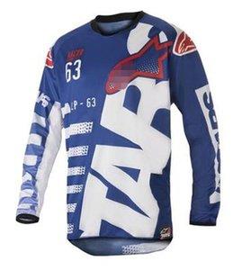 2017 nuevo pequeño montar en bicicleta estrella traje de carreras de montaña de manga larga chaqueta de traje largo de la camiseta de poliéster de secado rápido transpirable material de persp