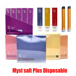 Original Myst Salz Plus-Einwegvorrichtung Pod Kit 650mAh Batterie 1000 Puffs 3,2 ml Pods Cartridge Vorgefüllte Vape Pen Kits 100% Hot Authentic