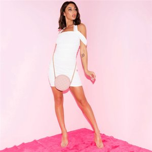 Özel dizayn edilmiş elbiseler Boyun Halter Seksi BODYCON Elbise Yaz Kolsuz Gece Kulübü Kadın Casual Dress Slash Womens