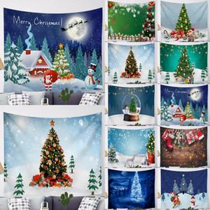 Topselling Stilvolle Weihnachten Wandbehang Tapisserie-Sankt-Weihnachtsdekor-Decke Kulisse Party-Geschenk