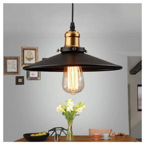 Loft Style Vintage Industrial Retro Pendant Lamp Light e27 Holder Iron Restaurant Bar Counter Attic Bookstore Lamp