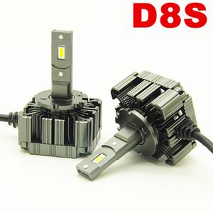 12v Автомобильные светодиодные лампочки Фара D8S 6000k 55wW Замена OEM HID лампы подключи и играй D8S