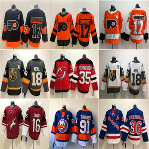 Vegas Golden Knights Rangers de New York Flyers de Philadelphie Maillot Carolina Hurricanes 18 Neal 17 Maillots de hockey sur glace Wayne Simmonds