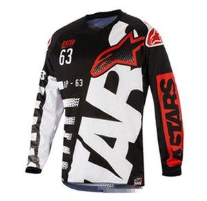 Pequeña estrella traje nuevo descenso de velocidad de la venta caliente 2020 del verano de manga larga motocicleta compite con la camiseta del verano y otoño de chaqueta, el ciclismo de ocio