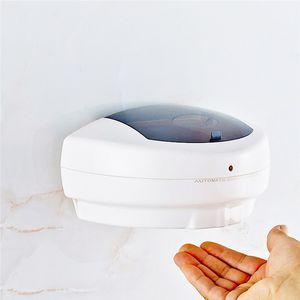 500 мл Автоматический дозатор жидкого мыла Бесконтактный дезинфицирующего мыла Датчик Hands Free ванной Настенная жидкого мыла