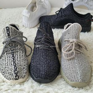 aumentar350v22019 zapatos de moda Moonrock Botas Negro transpirable Kanye West Botas Luna roca Deportes zapatillas de deporte con los zapatos de la caja