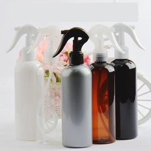 300ml Black Plastic Spray Bottles with Fine Mist Sprayer Shampoo Shower Gel refillable bottle