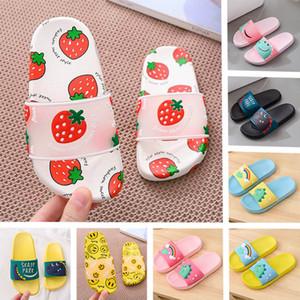 Pai-filho Slipper 2020 NOVO confortável casa de banho das mulheres calçados infantis pvc senhoras chuveiro chinelos de plástico meninas superiores sandálias interior