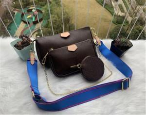 2020 bolsos de hombro del bolso de la venta hotBest bolsas de teléfono bolsa de moda mujer bolso de bolsas de tres piezas de combinación compras libres