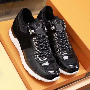 Designer Luxury Mens Casual Shoes 039 Genuine leather Old print Triple White Black Trainer Men Fashion Leisure Run Sneaker High quality KL6