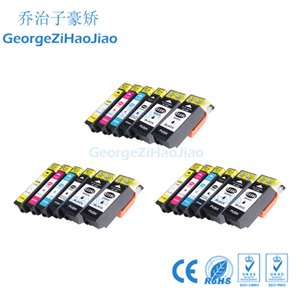 18 adet 33XL XP-530 için Uyumlu Mürekkep Kartuşu XP-630 XP-830 XP-635 XP-540 XP-640 XP-645 T3351 T3361 Yazıcı