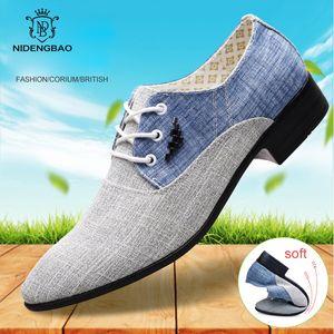Summer Men Casual Shoes Canvas Men Shoes Lace up Moccasins Flats Oxford For Men Fashion Brand Male Shoes Big Size 45 CX200622