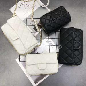 디자이너 명품 핸드백 지갑 유명 브랜드의 가장 인기있는 여자 럭셔리 디자이너 가방 핸드백 편지 구슬 체인 핸드백