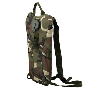 Outdoor Sports Digital Desert Camo Water Bag Backpack TPU Hydration System Bladder Camping Hiking Bicycle Water Bag 3L NEW