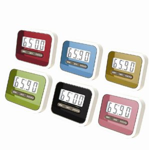 Küchen-Timer Digital-Batteriebetriebene LCD Display Minute Sekunde Countdownzeit Erinnerung Kochen Alarm OOA7962