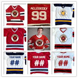 Custom Hombres Letterkenny Irish Jersey Hockey 69 Shoresy 68 Reilly Bordery Aany Name Cualquiera Jerseys Red White Navy Alternate 4XL