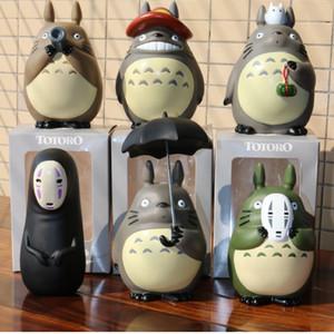 10 cm Meu Vizinho Totoro Figuras de Ação Estúdio Ghibli Miyazaki Hayao Modelo Brinquedos Decoração Do Carro SH190911