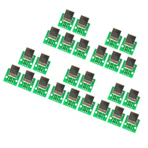 25 Pièces Conseil USB Type B femelle Eclater DIP Connecteur accessoire d'imprimante