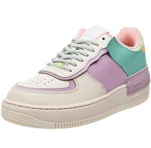 새로 출시 디자이너 낮은 1 그림자 열대 트위스트 창백한 아이보리 핑크 여성 캐주얼 신발 플랫폼 블랙 화이트 스니커즈 무료 배송