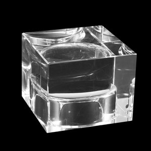 Nordic Crystal Candle Holder Holiday Wedding Centerpieces Ornaments Glass Candles Home Decor Geometric Centerpiece Wax Burner