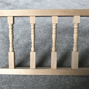 Miniature Fence Handrail 1:12 Mini Dollhouse Furniture Simulation Wooden House Mini Fence Doll House Accessories Kids Toy M850#