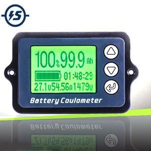 80 в TK15 кулонов метр емкость батареи индикатор Кулометр уровень мощности дисплей литий-фосфат железа тестер провода датчик 50A бесплатная доставка