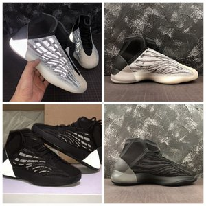 2020 Новый Mens Quantum Баскетбольная обувь для мужчин Трехместный Черный Зебра Канье Уэст не Светоотражающие Спортивные кроссовки Мужчины Тренеры Des Chaussures