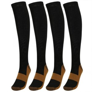 2Pair Compression Stockings Stretch Pressure Ankle Protection Varicose Vein Stocking Leg Relief Pain Pain Knee High Support Sock