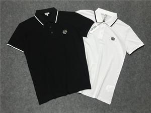New fashional Polos Mens Mulheres Camisetas Designershirts Tiger Luxo shirts mulheres camisetas Verão camisetas manga curta Top Quality B105557L