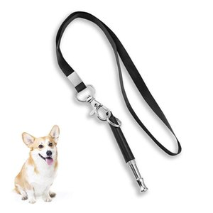 Kuulee Pet Dog Training Obedience Whistle Stop Barking Supersonic Sound Pitch Whistle Anti-lost Tool