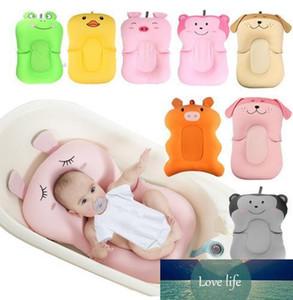 Baby-Dusche Tragbarer Luftkissen Bett Baby-Säuglingsbabybadewanne Pad Non-Slip Badewanne Mat NewBorn Sicherheits-Sicherheits-Badesitz