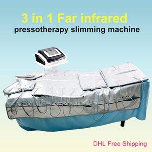 Máquina Presotherapy Shaper Linfy Body para EMS + Aire Presión 3in1 Pérdida de peso infrarrojo Drenaje de adelgazamiento + SPA SSKVJ